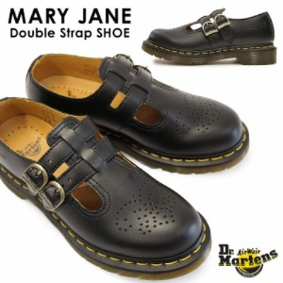 ドクターマーチン メリージェーン 12916001 ダブルストラップシューズ レディース Dr.MARTENS MARY JANE DOUBLE STRAP SHOE