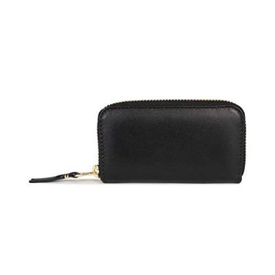 コムデギャルソン COMME des GARCONS 財布 小銭入れ コインケース ラウンドファスナー ZIP AROUND WALLET ブラック 黒 SA410