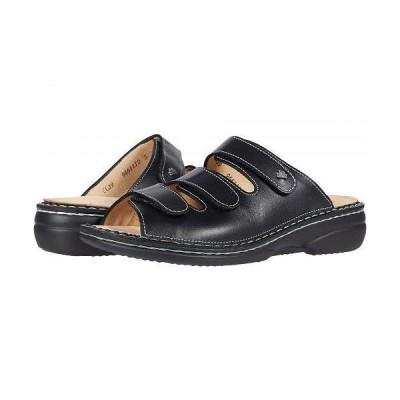 Finn Comfort フィンコンフォート レディース 女性用 シューズ 靴 サンダル Cisano - Schwarz Nappaseda/Stretch