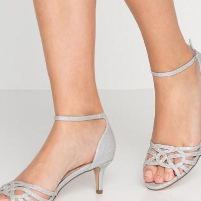 レディース サンダル LEAH - Sandals - silver