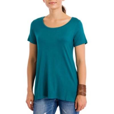 レディース 衣類 トップス Windhorse Women's Short Sleeve Basic T-Shirt Teal Small Tシャツ