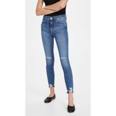 ディーエル1961 DL1961 レディース ジーンズ・デニム スキニー ボトムス・パンツ Farrow Ankle High Rise Skinny Jeans Rip Tide Distressed