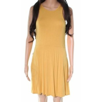 RVCA ルーカ ファッション ドレス RVCA NEW Yellow Sleeveless Muscle Tank Women Size Small S Sheath Dress