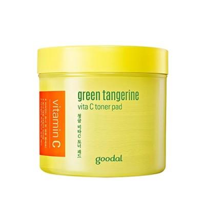 【goodal】グーダル グリーン タンジェリン ビタC トナー パッド(70枚)/goodal Green Tangerine Vita C Toner Pad 70ea