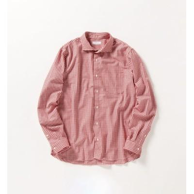 【シップス/SHIPS】 SHIPS any: 微起毛 チェック セミワイドカラー シャツ