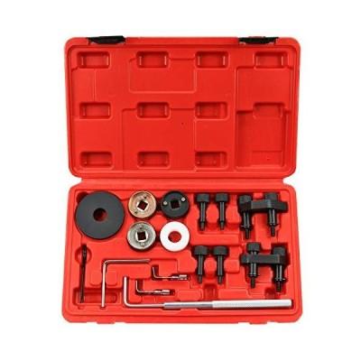 Best Q Engine Camshaft Locking Alignment Timing Tool Kit for VW Skoda VAG 1.8 2.0 TFSI EA888_並行輸入品