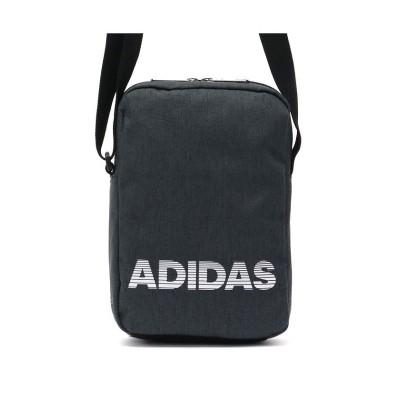 【ギャレリア】 アディダス ショルダーバッグ adidas バッグ 斜めがけ 小さめ 57411 ユニセックス ダーク グレー F GALLERIA