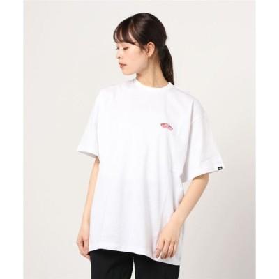tシャツ Tシャツ VANS ヴァンズ W Small Flower Print S/Stee ショートスリーブ 121R3010500 WHITE