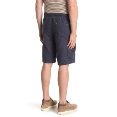 ユニオン デニム メンズ カジュアルパンツ ボトムス Pull-On Sahara Linen Blend Cargo Shorts ASTRO