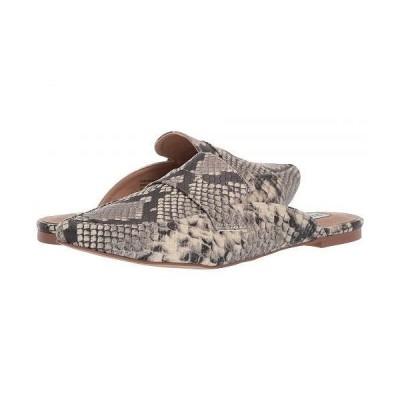 Steve Madden スティーブマデン レディース 女性用 シューズ 靴 ローファー ボートシューズ Flavor Flat Mule - Natural Snake