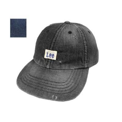 Lee リー LOW CAP DENIM VINTAGE 175-176101 BLACK JELT DENIM デニム 岡山県 カジュアル 帽子 シンプル