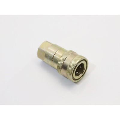 油圧 カプラー コネクター 1/4 メス(油圧ポンプ) GZ012