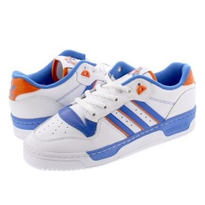 adidas RIVALRY LOW アディダス リバルリー ロー FTWR WHITE/BLUE/ORANGE fu6833