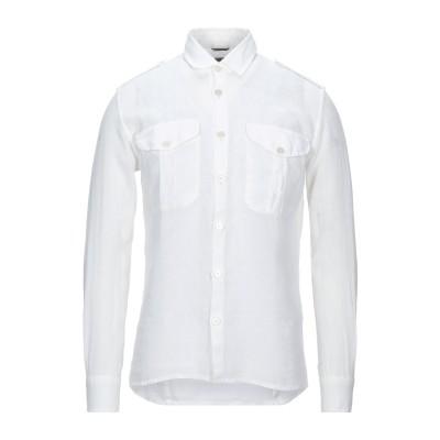 グレイ ダニエレ アレッサンドリーニ GREY DANIELE ALESSANDRINI シャツ ホワイト M リネン 100% シャツ