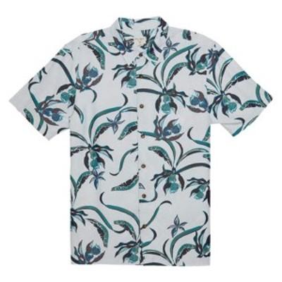 オニール メンズ シャツ トップス Aloha Life Button Down Shirt Ice Blue