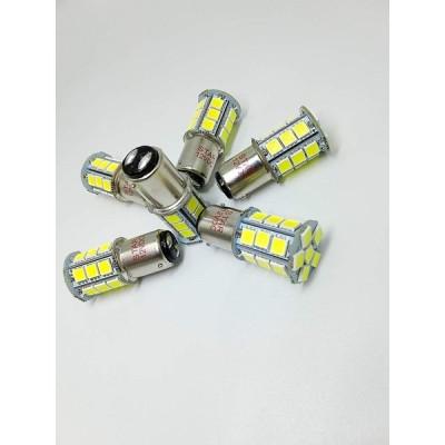 6PCS Super Bright 600lm BA15D 1176 1076 1142 1078 5050 SMD 24 trailer,