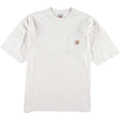 カーハート ワンポイントロゴポケットTシャツ L /eaa056572