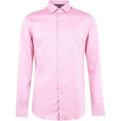 ヒューゴ ボス Hugo メンズ シャツ ワイシャツ トップス Long Sleeve Oxford Shirt Bright Pink