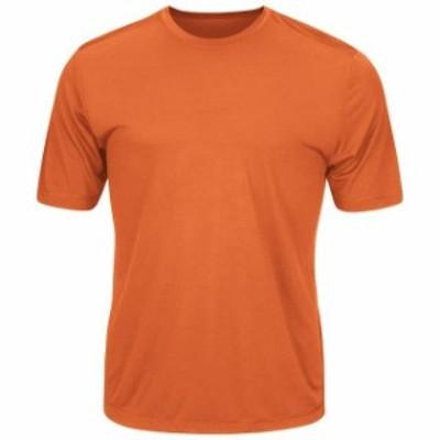 Majestic マジェスティック スポーツ用品  Majestic Youth Orange Cool Base Evolution T-Shirt