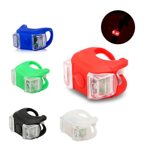 【2入裝】第六代 青蛙燈 自行車燈 雙眼燈 警示燈 營繩燈 自行車 前燈 尾燈 自行車燈 5色可選