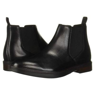 クラークス Paulson Up メンズ ブーツ Black Leather
