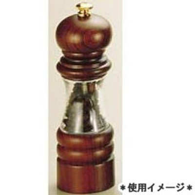 IKEDA イケダ クリスタルウッド 胡椒挽き ペッパーミル ペパーミル 6701