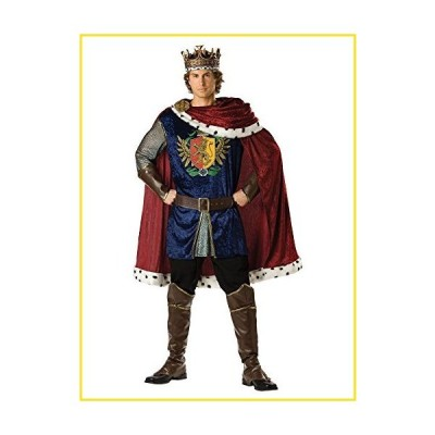 新品InCharacter Noble King Adult Costume - Large並行輸入品