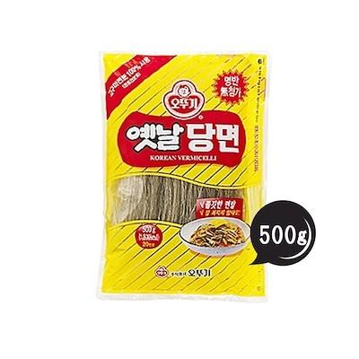 昔春雨 500g 5個セット! 韓国食品/韓国食材/韓国料理/春雨/はるさめ/チャプチェ/焼肉