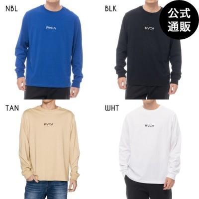 OUTLET 送料無料 2020 RVCA ルーカ メンズ SMALL RVCA LT ロングスリーブTシャツ 全4色 XS/S/M/L/XL rvca