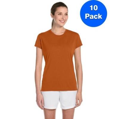 レディース 衣類 トップス Womens Performance T-Shirt 10 Pack Tシャツ