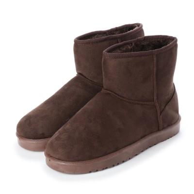 SFW サンエープラス AAA? ふわふわのボアが暖かくて快適な履き心地!軽くて歩きやすいムートンブーツ/AAA+ 2319 (ダークブラウン)