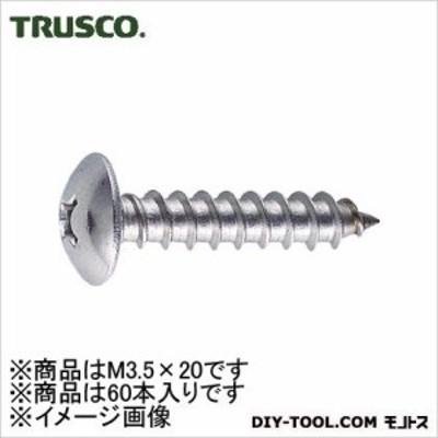トラスコ(TRUSCO) トラス頭タッピングねじステンレスM3.5X2060本入 140 x 60 x 28 mm B43-3520 60本