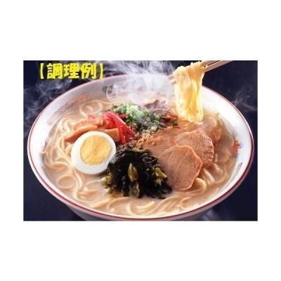 博多長浜生ラーメン とんこつ味 10食 + 替え玉(5玉)付