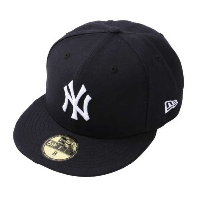 MLBカスタム59FIFTYニューヨーク・ヤンキースゲームキャップ 大きいサイズ メンズ NEW ERA  ネイビー×ホワイト