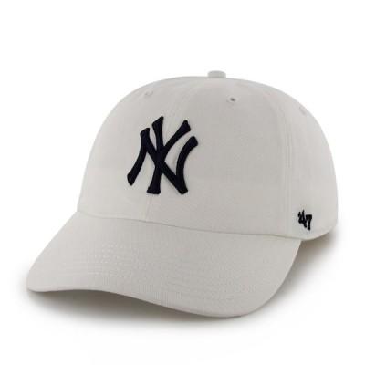 ニューヨークヤンキース キャップ Yankees '47 CLEAN UP White RGW17GWS WHN  フォーティーセブン