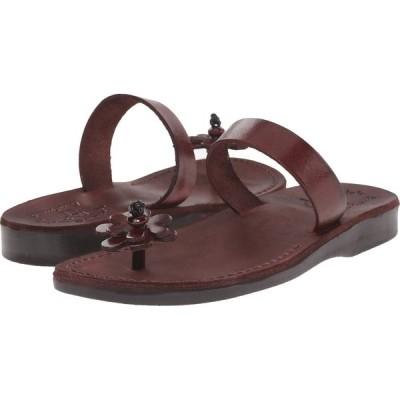 エルサレムサンダル Jerusalem Sandals レディース ビーチサンダル シューズ・靴 Esther Brown