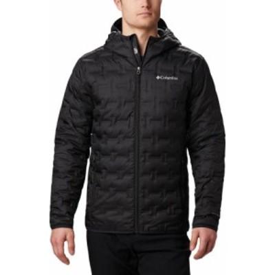 コロンビア メンズ ジャケット・ブルゾン アウター Delta Ridge Down Hooded Winter Jacket Black
