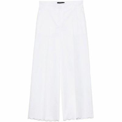 MAX MARA/マックス マーラ White Fiamma coulotte pants レディース 春夏2020 51311301600001 ju