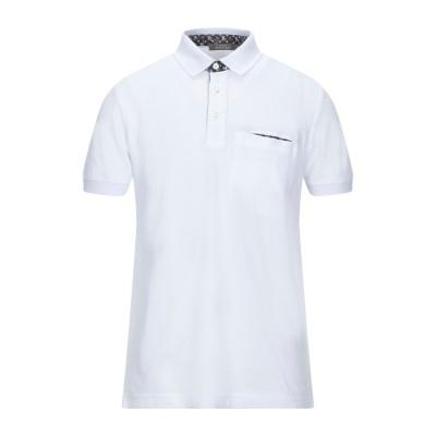 アンドレア フェンツィ ANDREA FENZI ポロシャツ ホワイト 54 コットン 100% ポロシャツ