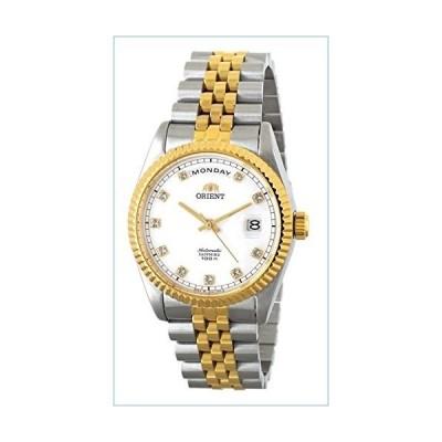 "ORIENT""President"" Classic Automatic Sapphire Watch Two Tone Gold EV0J002W並行輸入品"