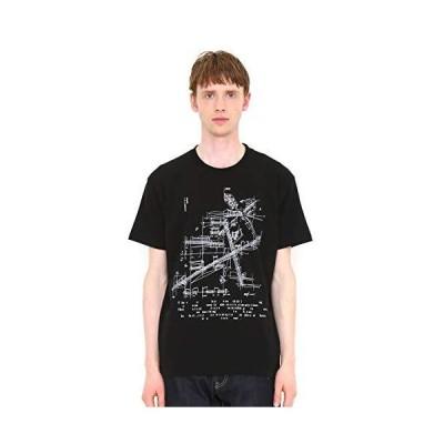 (グラニフ) graniph Tシャツ サウンドアーキテクト (ブラック) メンズ レディース S (g100) (g107)