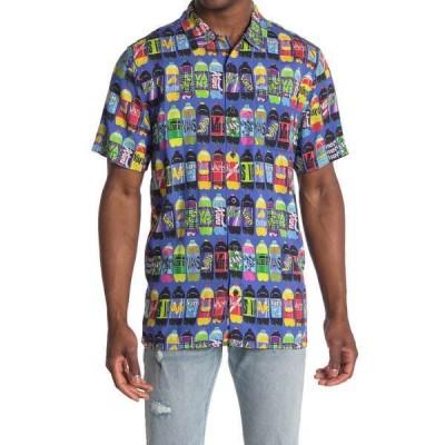 バンズ メンズ シャツ トップス x Fergus Short Sleeve Corner Store Soda Print Shirt CORNER STO
