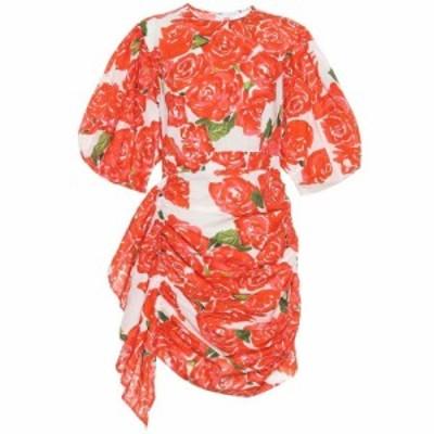 ロードリゾート RHODE レディース ワンピース ワンピース・ドレス Pia floral cotton minidress Rose Bouquet