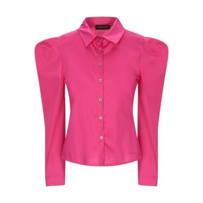 VANESSA SCOTT シャツ フューシャ M コットン 61% / ナイロン 36% / ポリウレタン 3% シャツ