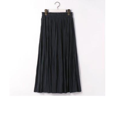 消しプリーツロングスカート