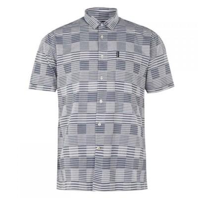 バブアー Barbour メンズ シャツ トップス Stackpole Shirt Chambray BL