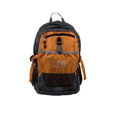 OSAGE RIVER Osceola Series Daypack - Titanium/Orange並行輸入品