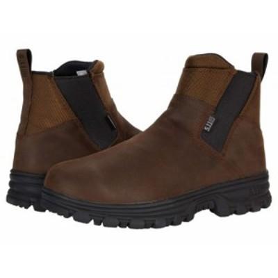 5.11 Tactical ファイブイレブンタクティカル メンズ 男性用 シューズ 靴 ブーツ ワークブーツ Company 3.0 Boot Dark Earth【送料無料】
