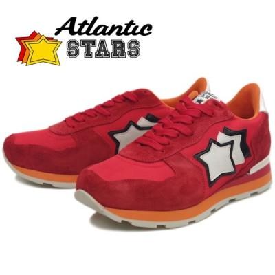 Atlantic STARS アトランティックスターズ メンズ スニーカー ANTARES アンタレス RED 85B レザー カジュアル シューズ ローカット 靴