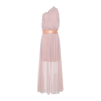 アニヤバイ ANIYE BY ロングワンピース&ドレス ライトピンク S ポリエステル 100% ロングワンピース&ドレス